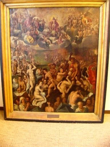 Frans I FLORIS - Pittura - Le Jugement dernier
