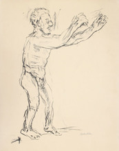 Oskar KOKOSCHKA - Stampa Multiplo - Reaching Man