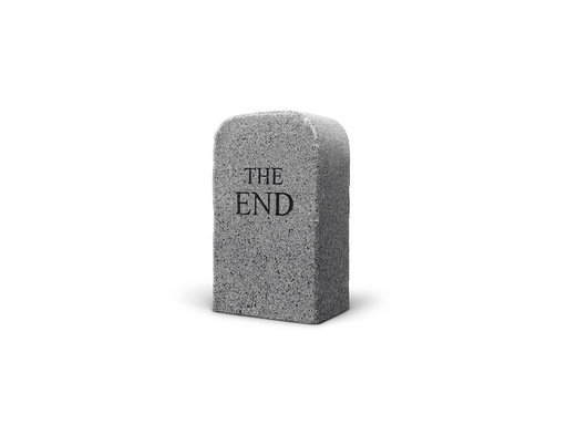 Maurizio CATTELAN - Sculpture-Volume - The End (granite)