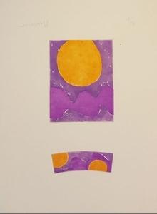 Alfred MANESSIER - Estampe-Multiple - SOLEIL
