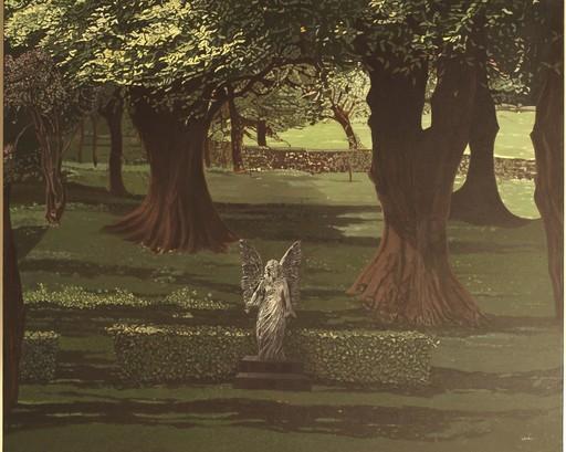 Claire LAMY - Painting - Au delà du rêve