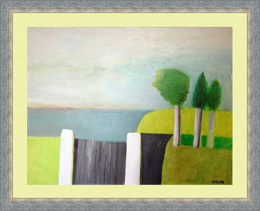 Zurab GIKASHVILI - Pittura - Landscape