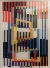 Yaacov AGAM - Estampe-Multiple - Becoming