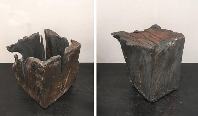 Giuseppe SPAGNULO - Sculpture-Volume - Cubo
