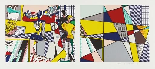 Roy LICHTENSTEIN - Print-Multiple - Tel Aviv museum print