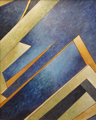 Isabel PIRE - Painting - Enigmapic Malaparte