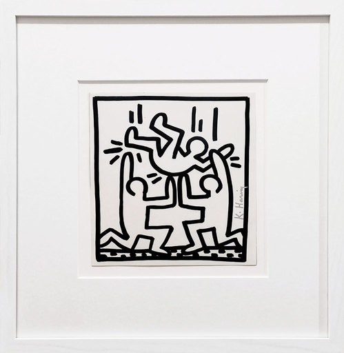 Keith HARING - Estampe-Multiple - One for all