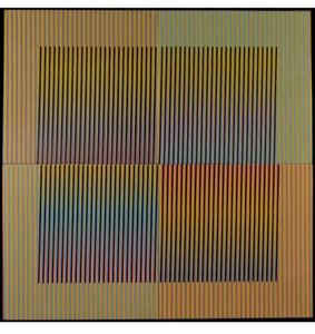 Carlos CRUZ-DIEZ - Ceramic - Couleurs additives série 14