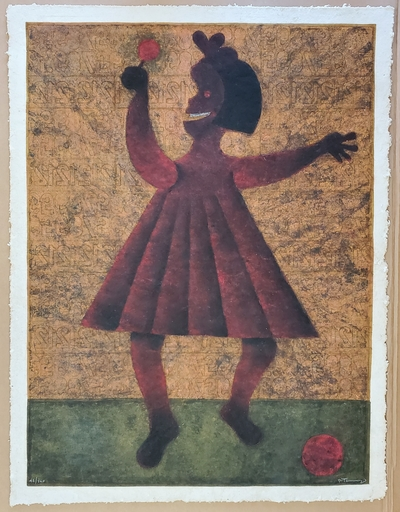 Rufino TAMAYO - Pittura - Nina (Girl)