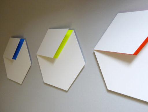 Gerhard FRÖMEL - Sculpture-Volume - Drei Farbräume 3 teilig