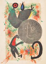 Joan MIRO - Radierung Multiple - Large Joan Miro Lithograph, Signed Edition