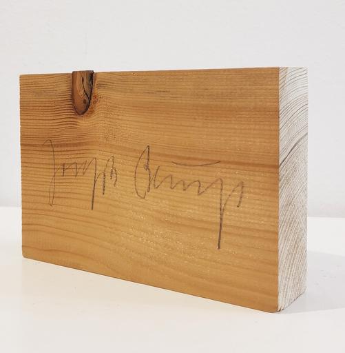 Joseph BEUYS - Escultura - Holzpostkarte