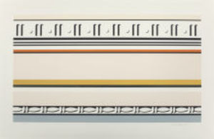 Roy LICHTENSTEIN, Entablature VII