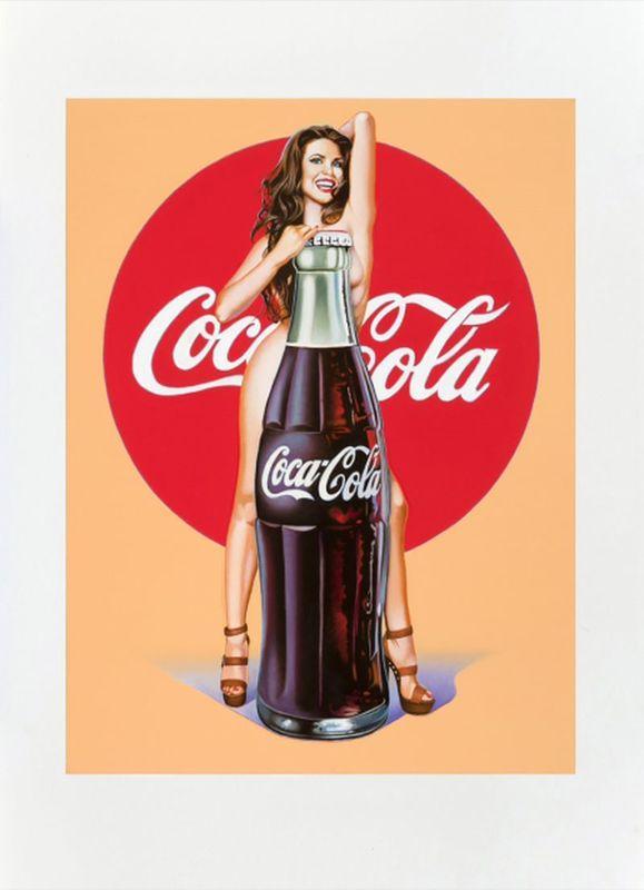 Mel RAMOS - Druckgrafik-Multiple - Lola Cola 5