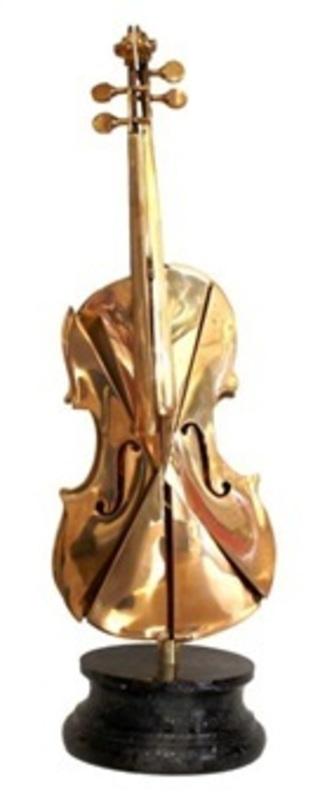 Fernandez ARMAN - Sculpture-Volume - Violon Alto Prisme