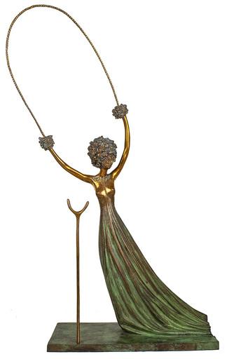Salvador DALI - Escultura - Alice nel paese delle meraviglie  1977