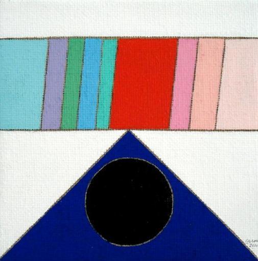 Eugenio CARMI - Painting - Rischiosamente