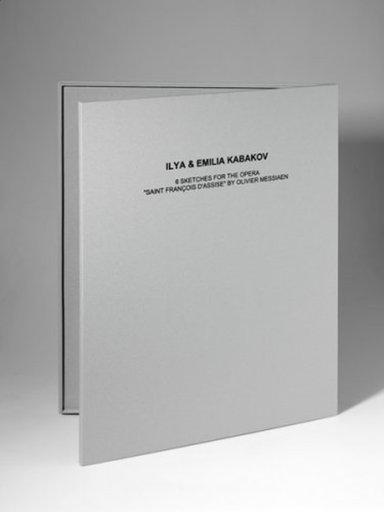 Ilya KABAKOV - Estampe-Multiple - 6 Sketches for the Opera Saint François Assise
