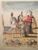 Giorgio DE CHIRICO - Stampa Multiplo - I cavalli di Achille, 1971