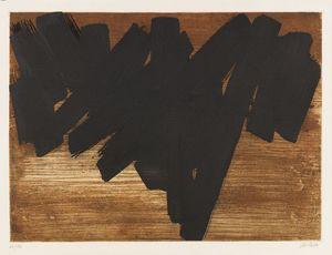 Pierre SOULAGES - Print-Multiple - Eau-forte V