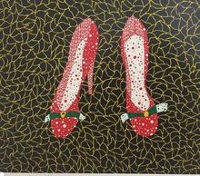 草間彌生 - 版画 - Shoes