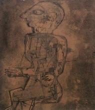 Raúl MILIAN - Disegno Acquarello - Hombre