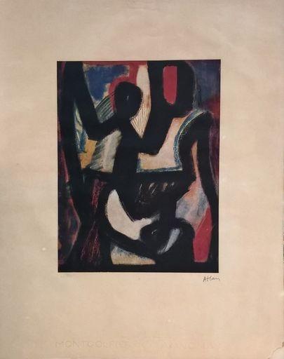 Jean-Michel ATLAN - Print-Multiple - Sans titre