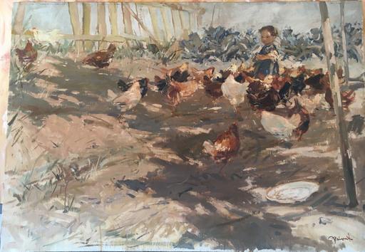Cosimo PRIVATO - Pintura - Briciole