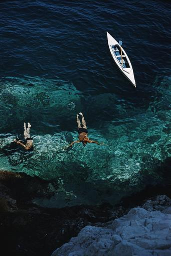 Slim AARONS - Fotografie - Capri Holiday edt. 1 of 150