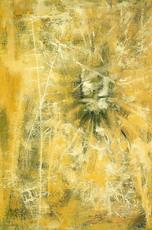 Paul JENKINS - Peinture - LE PHÉNIX JAUNE - 1954