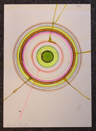 Damien HIRST - Gemälde - SENZA TITOLO