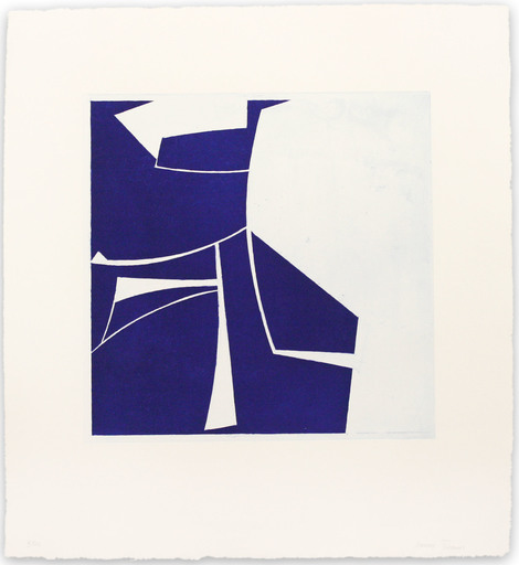 Joanne FREEMAN - Print-Multiple - Covers 2 Ultramarine