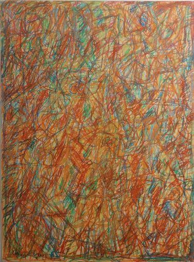 David LAN-BAR - Drawing-Watercolor - Abstract Composition