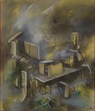 Roberto MATTA - Pintura - Felix Ardor Amat
