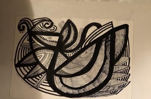 "Pepi SANCHEZ - Drawing-Watercolor - ""El anfiteatro"""