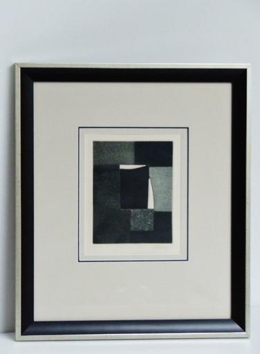 Bertrand DORNY - Estampe-Multiple - Noir et Blanc