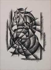 Gerardo DOTTORI - Grabado - Forme in movimento