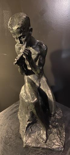 Rachel VAN DANTZIG - Escultura - Le joueur de flûte