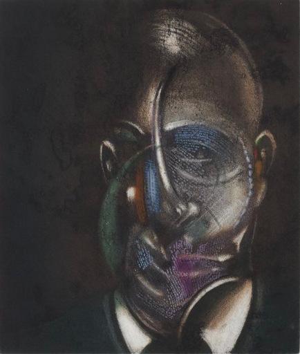 弗朗西斯•培根 - 版画 - Portrait de Michel Leiris
