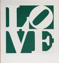 罗伯特•印第安纳 - 版画 - Greenpeace LOVE