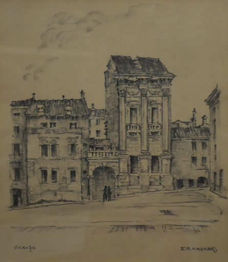 Ernst Michael WAGNER - Drawing-Watercolor - Vicenza