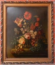 Josef LAUER - Pintura - Floral