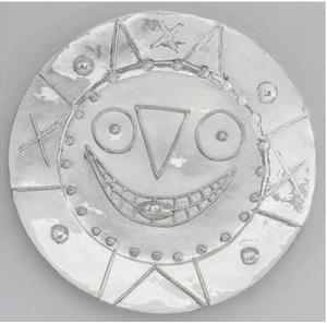 Pablo PICASSO - Sculpture-Volume - Horloge à la langue