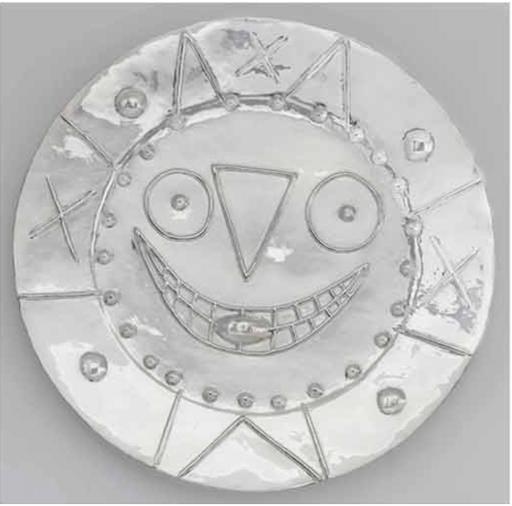 巴勃罗•毕加索 - 雕塑 - Horloge à la langue