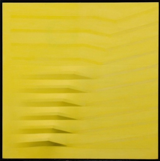 Agostino BONALUMI - Painting - Giallo