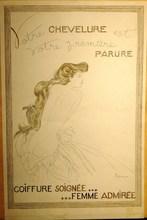 Georges LEPAPE - Dessin-Aquarelle - maquette originale de publicité