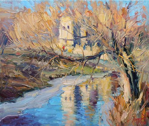 Yuriy DEMIYANOV - Gemälde - old velta