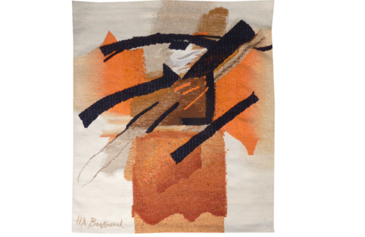 Huguette Arthur BERTRAND - Tapestry - Composition