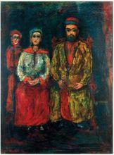 Moshé Elazar CASTEL - Pintura - Artist's Family