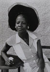 Seydou KEITA - Photo - Femme assise